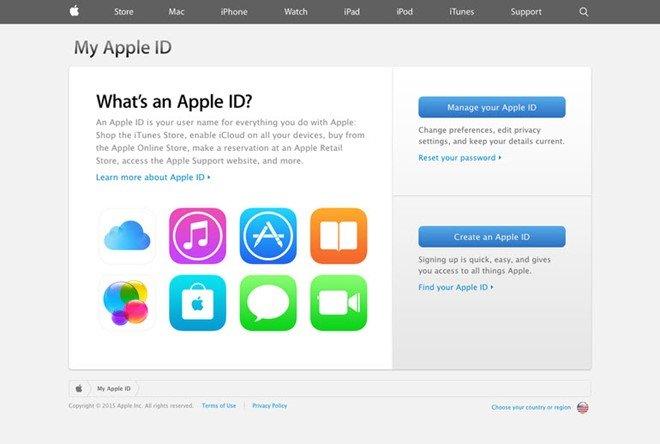 Phê duyệt đăng nhập cho iCloud (Apple ID) - Chong Hack